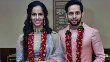 Saina Nehwal and P Kashyap Are Just Married! See First Wedding Pic of the Indian Badminton Couple
